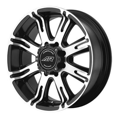 American Racing Wheels American Racing AR708, 20x9 Wheel with 6 on 135 Bolt Pattern - Matte Black with Machined Face… #TruckParts #JeepParts
