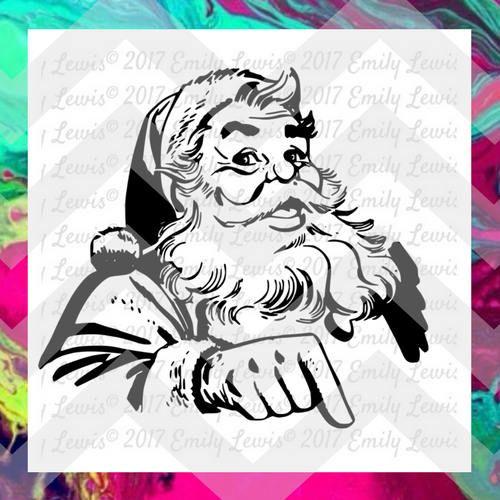 Santa svg Santa svg files Santa svg cuts Santa cut files
