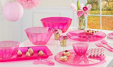 Serving Trays & Serving Platters - Plastic Serving Bowls - Party City