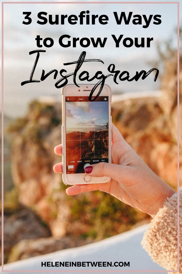 3 Surefire ways to grow your Instagram. Instagram has gone through some major changes over the past few years. From being a favorite picture sharing app to actually creating avenues for influencers to make money and grow their business it's not going away anytime soon. Instagram remains one of the powerful and dominating apps in the industry. I think it's in part …