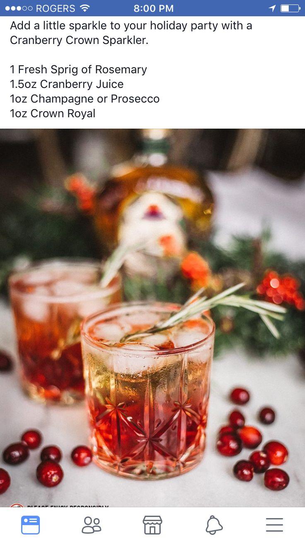 Crown royal drink