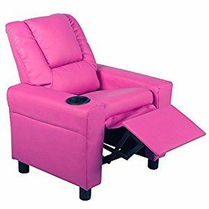 Kids Recliner Armchair Children's Furniture Sofa Seat Couch Chair w/Cup Holder #Furniture&Decor #Children's Furniture