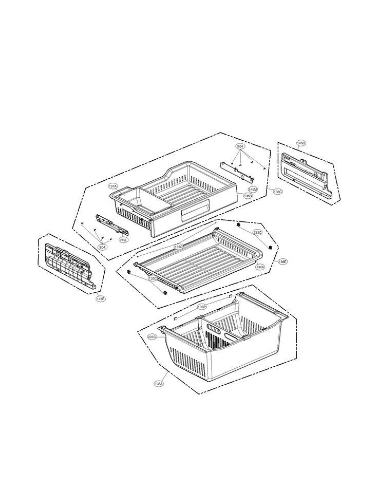 LG REFRIGERATOR Parts | Model LFX31925ST | Sears PartsDirect