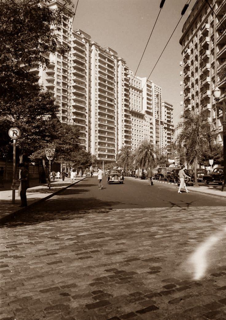 Avenida São Luís, 1959