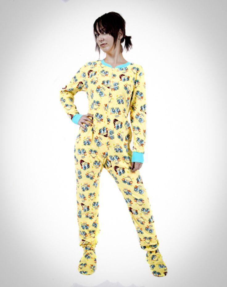 adult pajamas with footies
