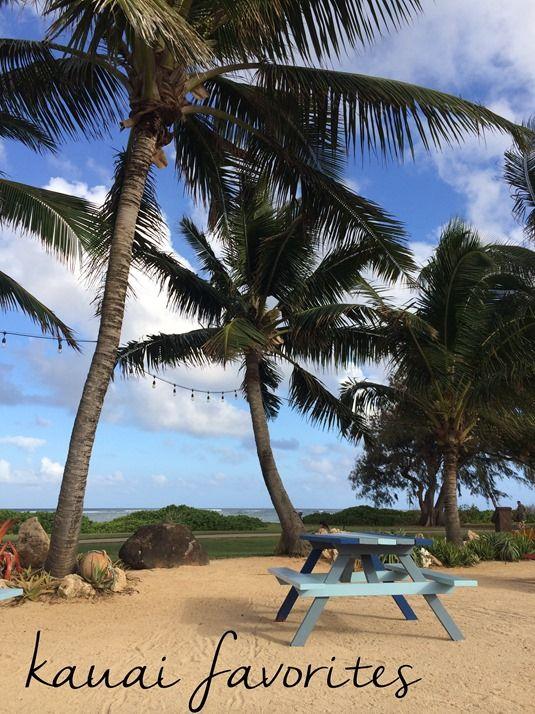 Kauai: favorite things to do & places to eat