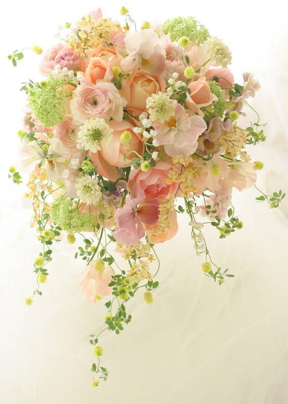 Soft pinks and peachys. So delicate