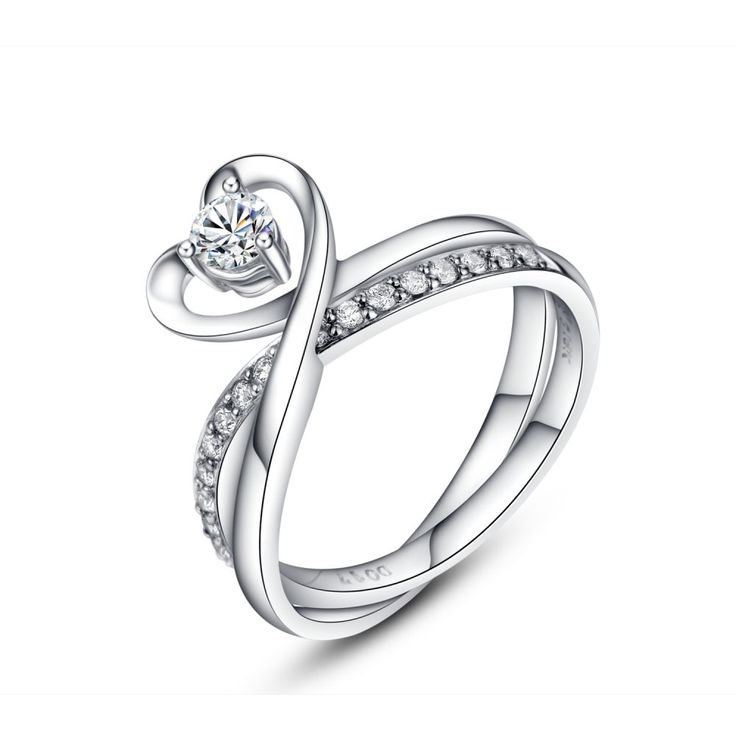 18K/750 WHITE COLOR GOLD DIAMOND SET RING