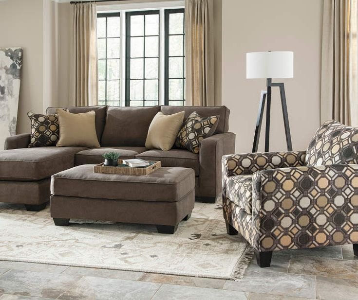 Keenum Taupe Sofa Chaise
