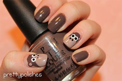 Easy Farm Animals Nail Art Designs & Ideas 2013/ 2014