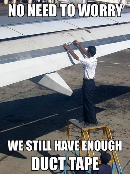 ce0cdd06ecfa9cc251b325b2508a1901 duck tape flight attendant 304 best aviation humour images on pinterest airline humor,Airplane Mechanic Funny Memes