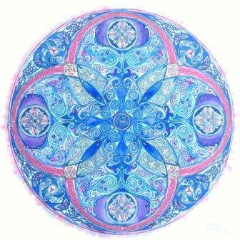 "Mandala ""agua y aire"""