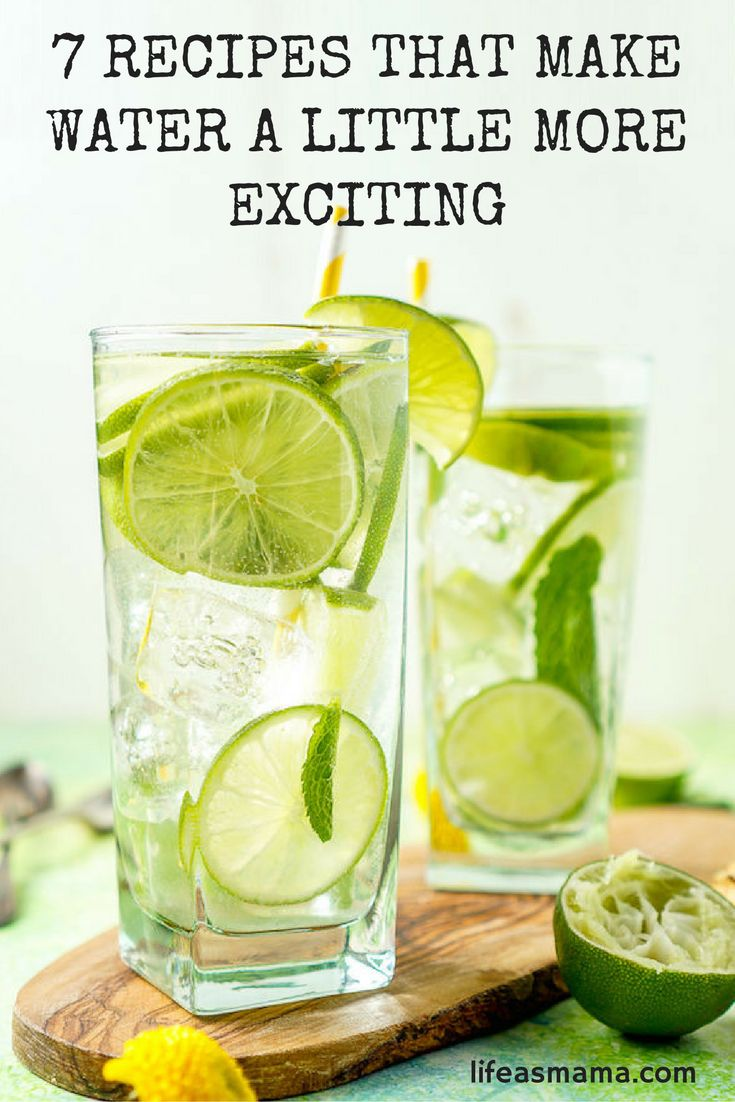 If you're looking for a drink that contains all of the deliciousness of all your favorite juices and sodas but none of the added sugar or preservatives, check out these cool flavored water recipes.
