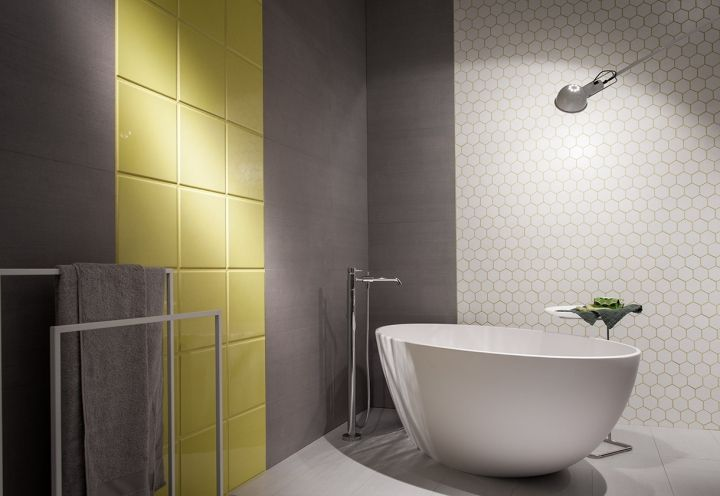 Oltre 25 fantastiche idee su Bagni con piastrelle gialle su Pinterest  Ispirazione bagno, Bagni ...