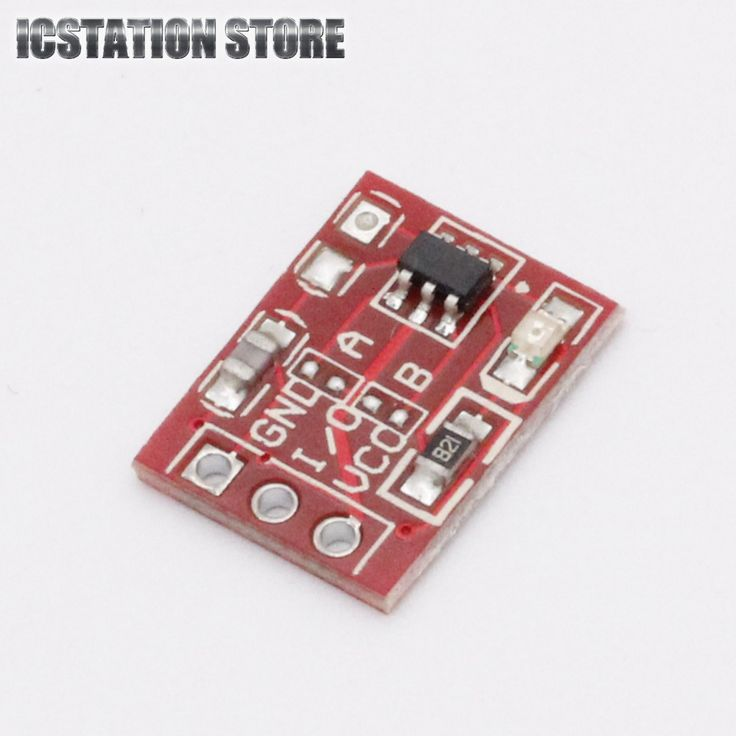 10 יחידות TTP223 מגע קיבולי מפתח מודול מגע מתג נעילה עצמית/לא אחד תפס נעילה התקדם Rode שיקום