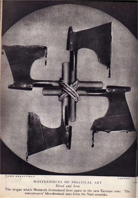 The Extraordinary Anti-Nazi Photomontages of John Heartfield ~ Kuriositas
