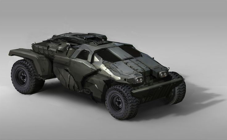 ArtStation - Military Vehicle, Sam Brown