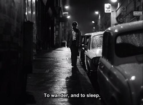 "Jacques Spiesser dans ""Un homme qui dort"" (Bernard Queysanne, 1974)"