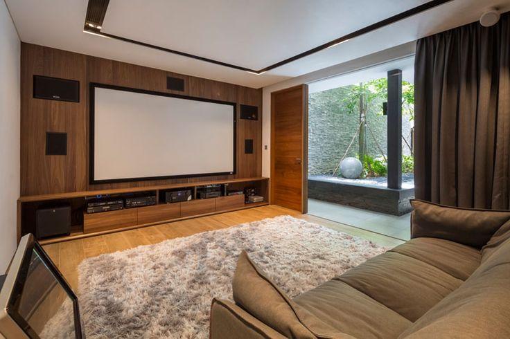 Secret Garden House: A Unique Contemporary Home With A Tropical Feel In Singapore