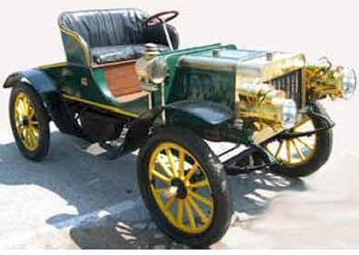 1904 St. Louis Motor Car Runabout - (St Louis Motor Carriage Co. St Louis, Missouri 1898-1906)
