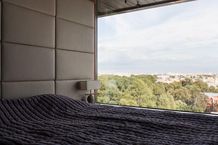 Мужская квартира с панорамным видом на город. Изображение №26.