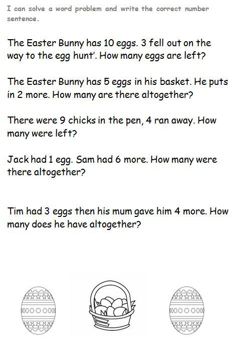 This notebook file contains several Easter themed word problems #EasterSunday