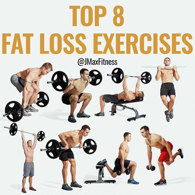 Top 8 Fat Loss Exercises By Jmaxfitness The Formula For Losing