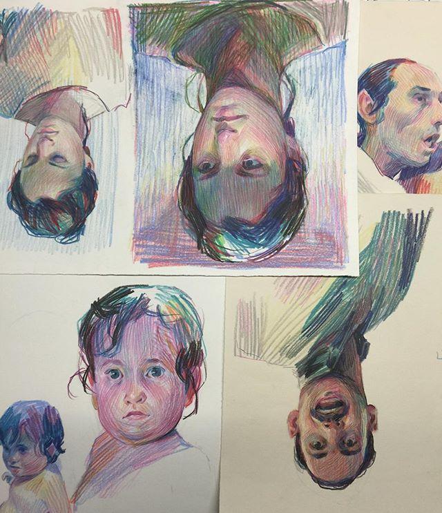 2015 studies #color #pencil #aryz | Aryz