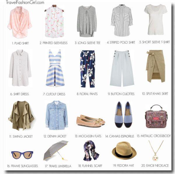 London Capsule Wardrobe: Summer