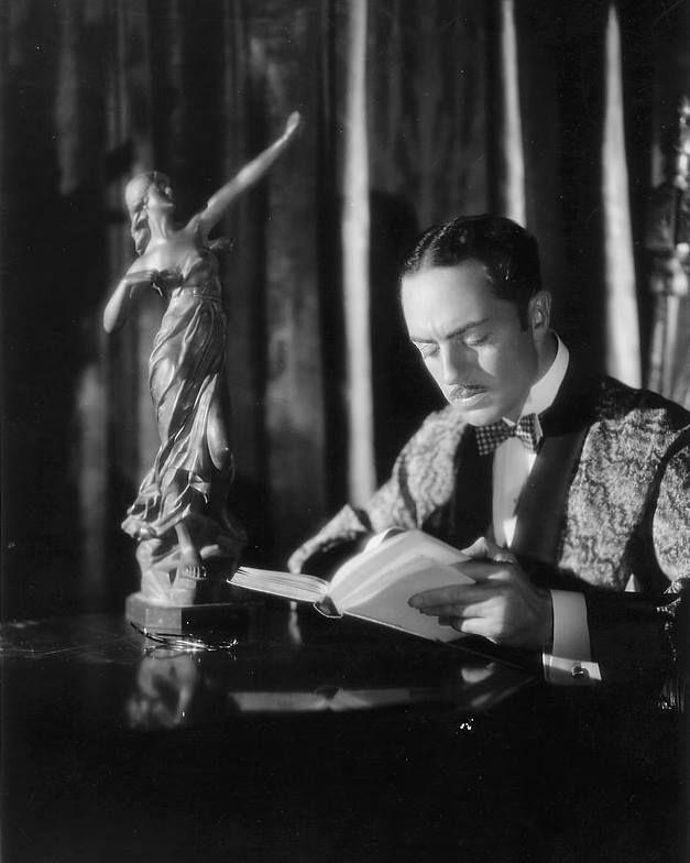 "William Powell as Philip Vance in ""The Benson Murder Case""(1930)."