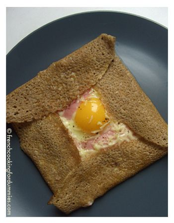 Ham and cheese crepe recipe