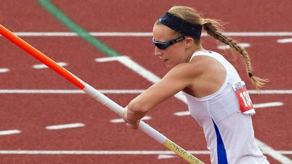 @espnW -- Blind pole vaulter Charlotte Brown inspires fans, coaches, competitors with fourth-place tie at Texas state track and field meet
