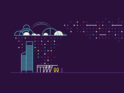 Cloud/Data Illustration