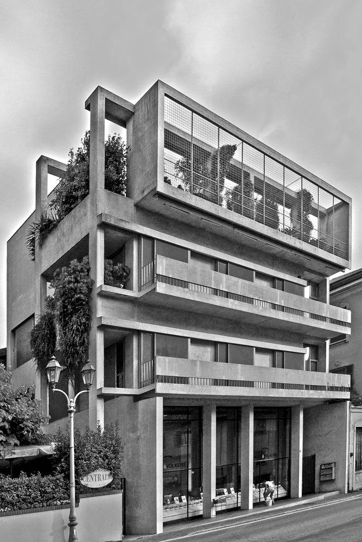Cesare Cattaneo - Casa d'Affitto a Carnobbio, Via Regina 43, Cernobbio, Italia (1938-39)
