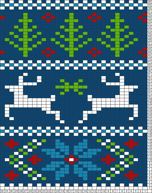 Knitting Charts And Motifs : Best images about christmas knitting motifs on