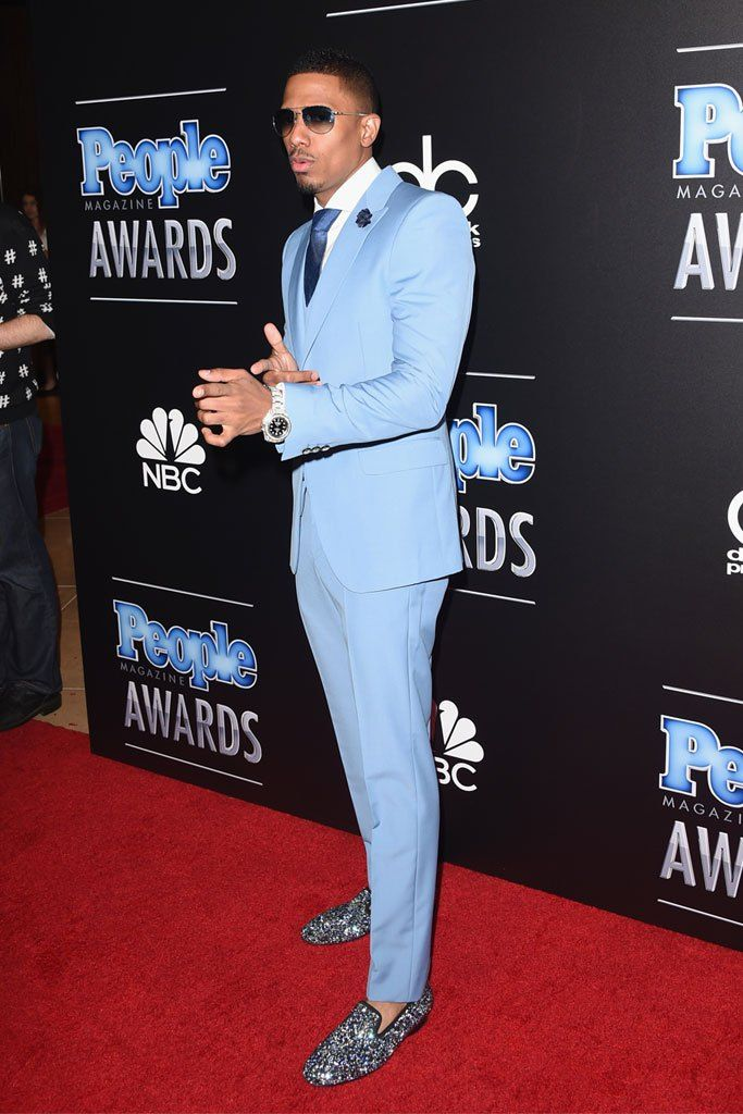 Love his style...Look at those shoes!! Nick Cannon