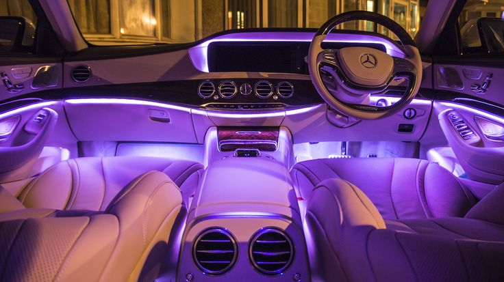 Mercedes S Class Ambient Lighting