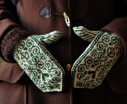 Mittens Peace&Love Selbu | Flickr - Photo Sharing!