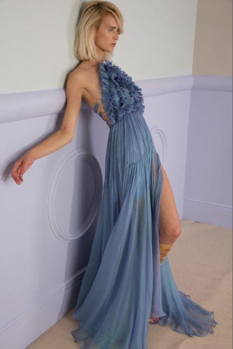 MALATI floor-length dress