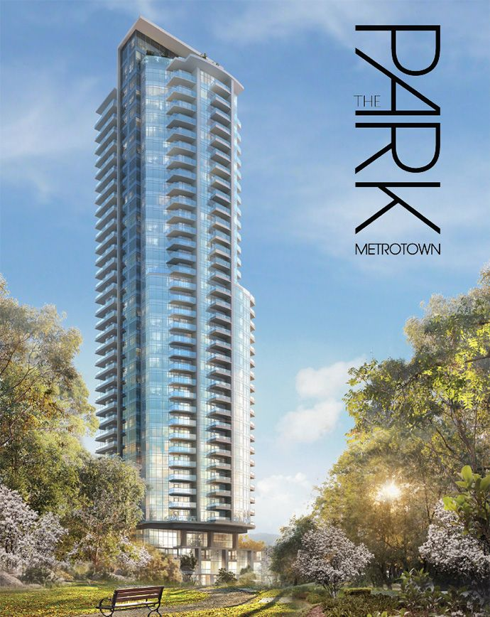 Intergulf Development presents The Park Metrotown #Burnaby #condo high-rise residences for sale.