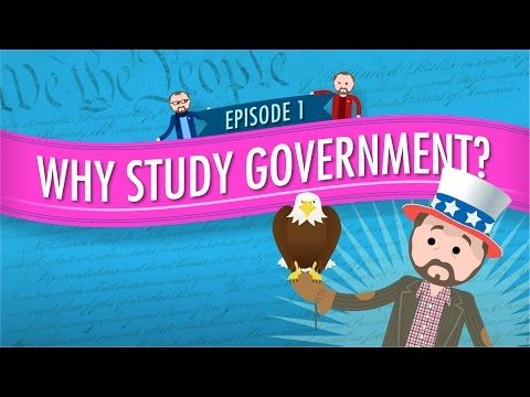 How does community service relate to an American Government course?