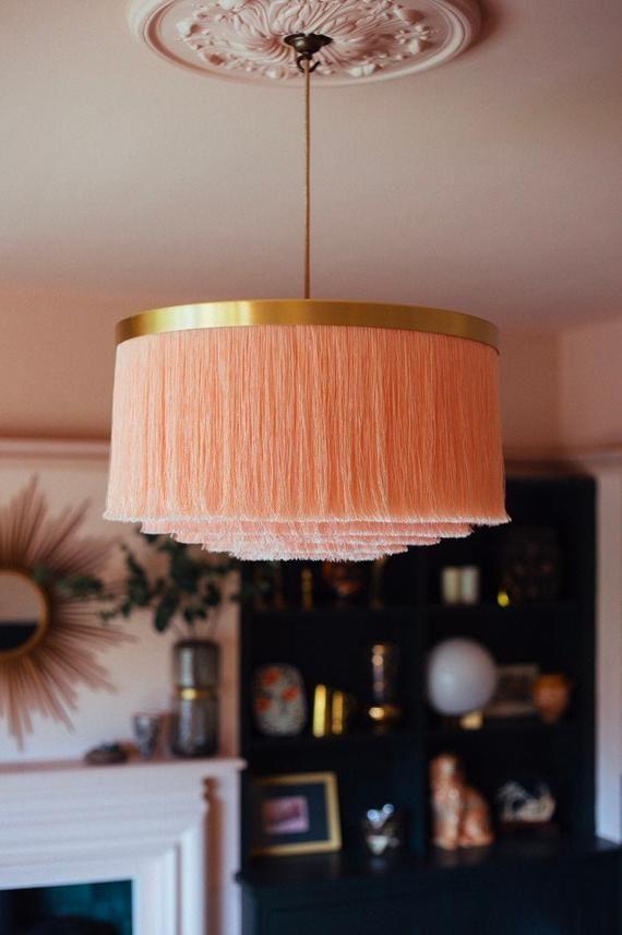 Pendant Light Shades, Pink Large Lamp Shades