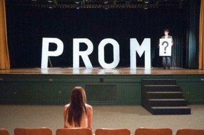 Prom proposals get creative