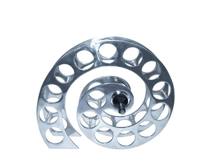 New Flaschenhalter Aluminium Spirale