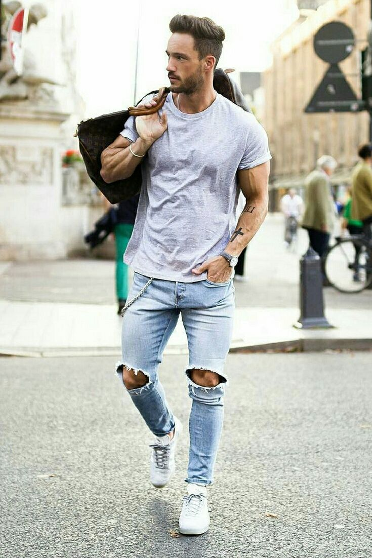 White t shirt fashion tips - 9 Coolest Summer Outfit Formulas For Stylish Guys