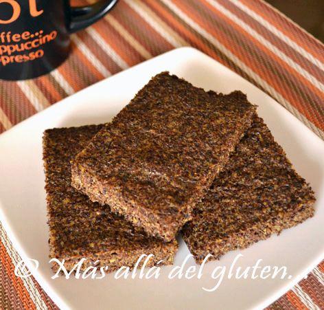 """Más allá del gluten...: Pan """"Plano"""" de Linaza (Receta GFCFSF)"""
