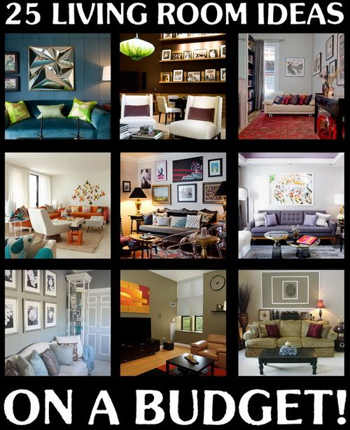 Bold Idea Cheap Interior Design Ideas For Apartments Great: 25+ Best Ideas About Budget Living Rooms On Pinterest