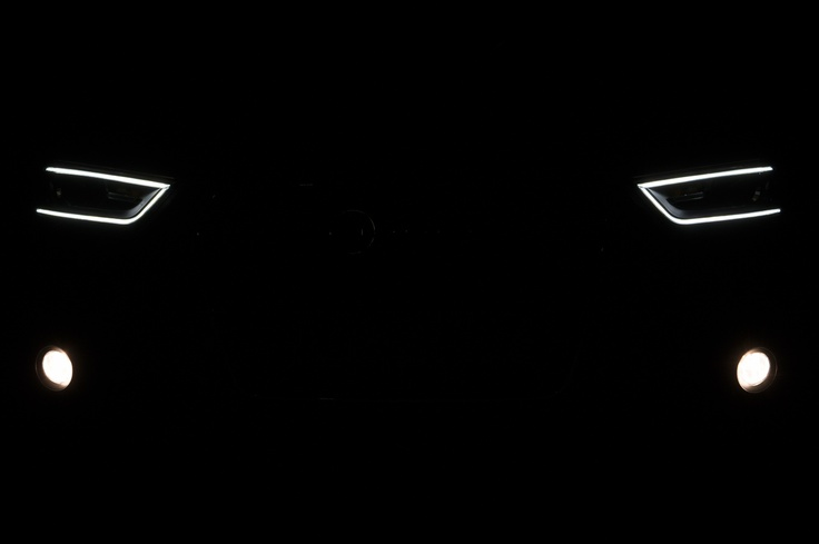 2012 Audi Q3 headlights