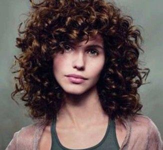25+ Short Curly Brown Hair