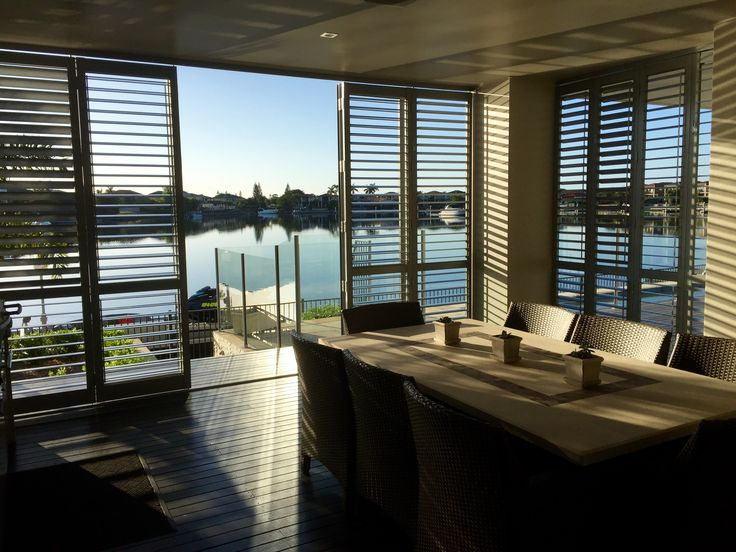 Aluminium Shutters allow you to control the mood of the room